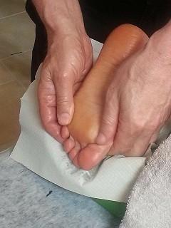 טיפול רפלקסולוגי