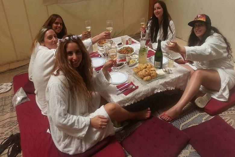 מסיבת רווקות בצפון